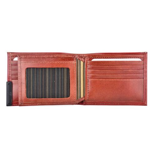 carteira masculina couro legítimo fasolo lisa k637-042