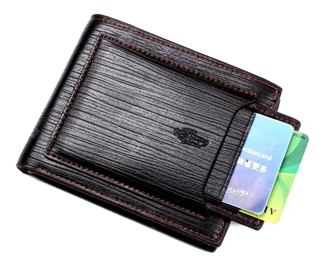 8f73023d1f51c carteira masculina couro porta cartão cnh rg doc com nf. Carregando zoom.