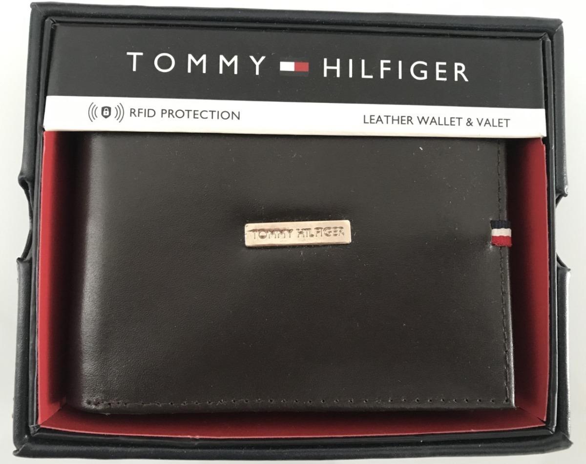 9a16332c69d carteira masculina couro tommy hilfiger brown marrom escuro. Carregando  zoom.