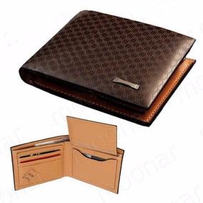 82354dde2 Carteira De Bolso Couro Genuino Pidengbao Original - Carteiras Masculinas  no Mercado Livre Brasil