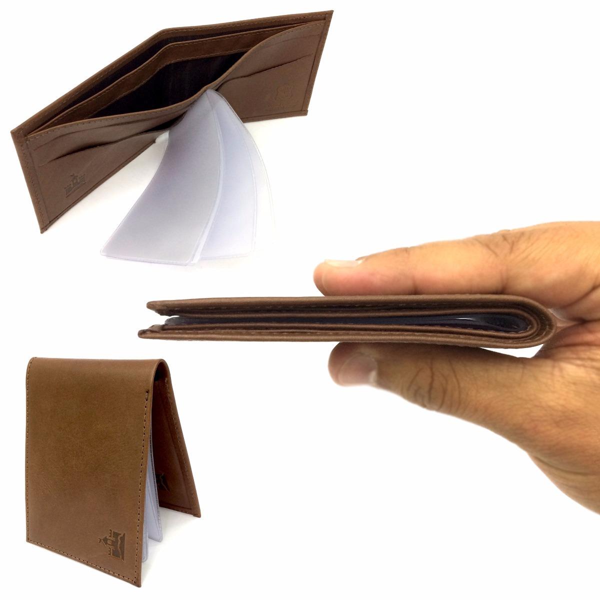 6269d244d carteira masculina fina slim couro legítimo exclusividade! Carregando zoom.