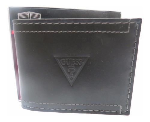 carteira masculina guess billfold preta original