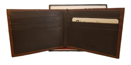 carteira masculina guess los angeles with valet billfold