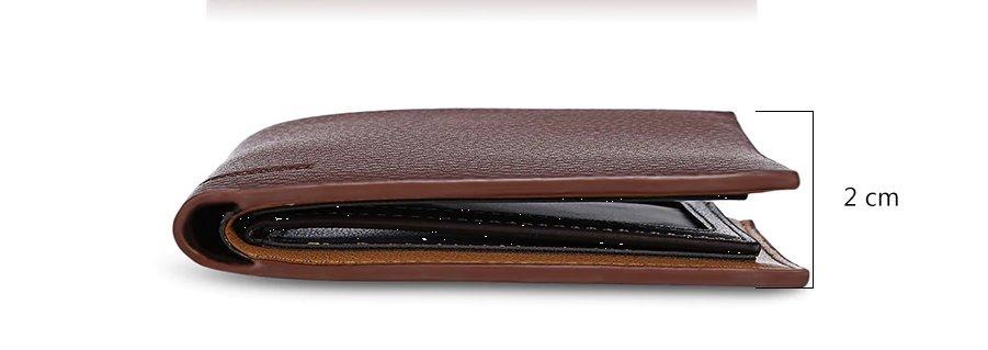 1373b6512 carteira masculina homens couro ultra slim promoção. Carregando zoom.