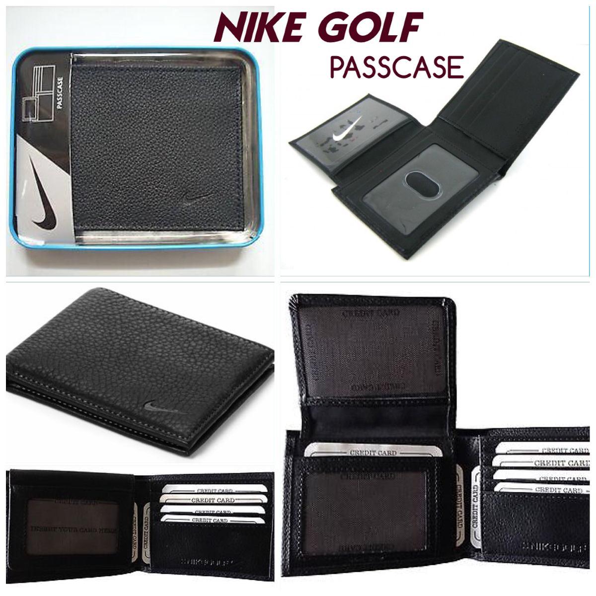 e8b976fe4 Carteira Masculina Nike Golf Preta Passcase - R$ 125,00 em Mercado Livre