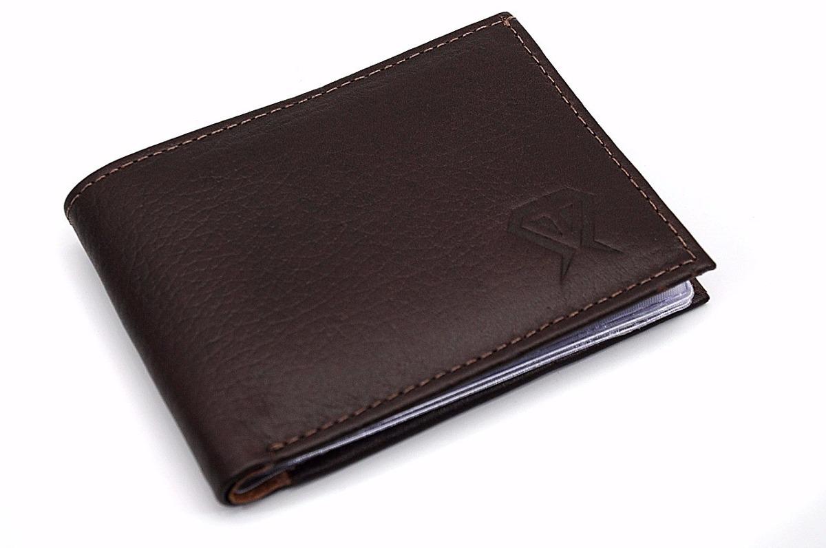 dbff57acd carteira masculina pequena couro legitimo slim fina luxo. Carregando zoom.