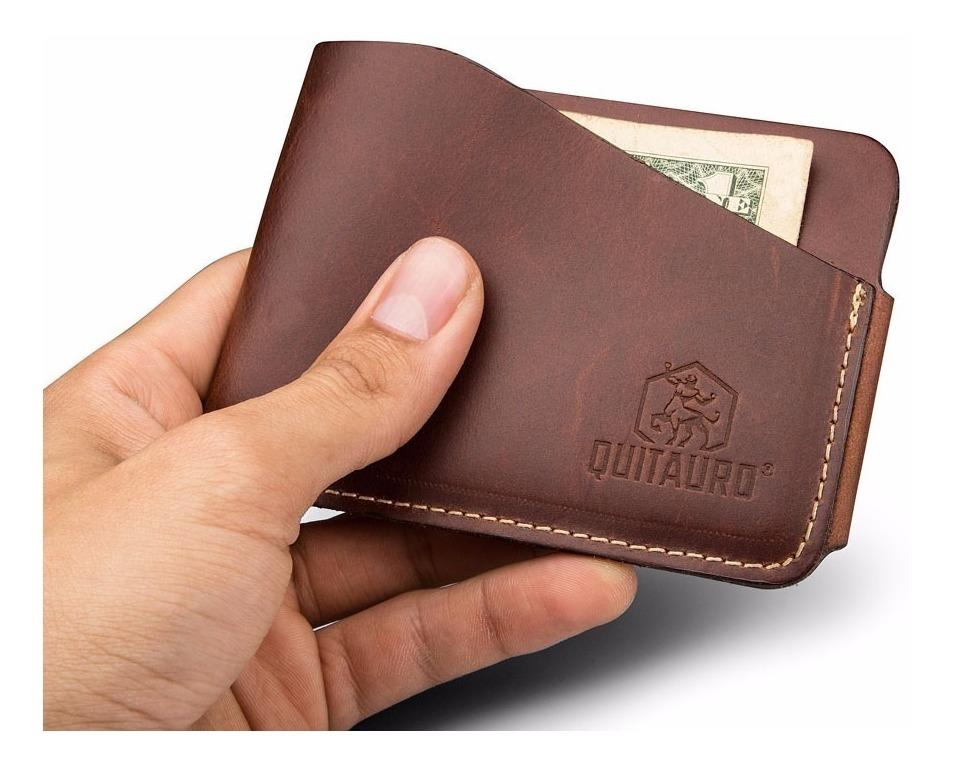 f66bb2e655 carteira masculina pequena porta cartão slim couro legítimo. Carregando  zoom.