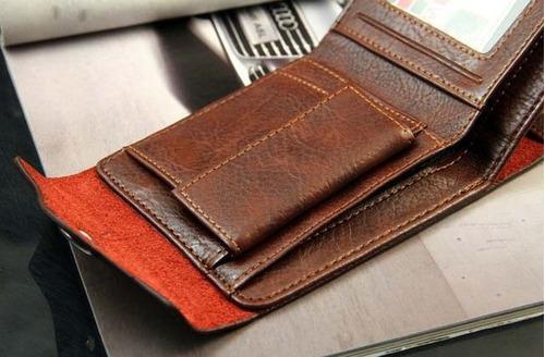 carteira masculina porta moedas