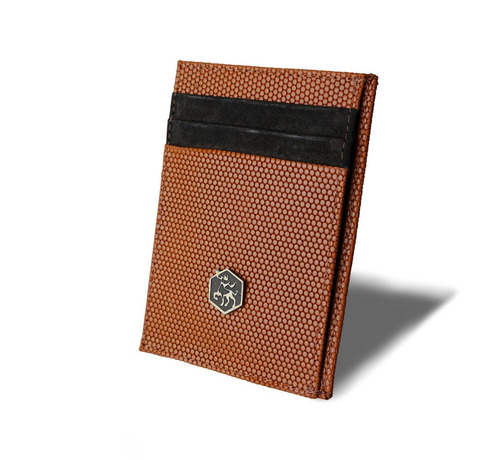 carteira masculina quitauro pequena slim couro legítimo luxo