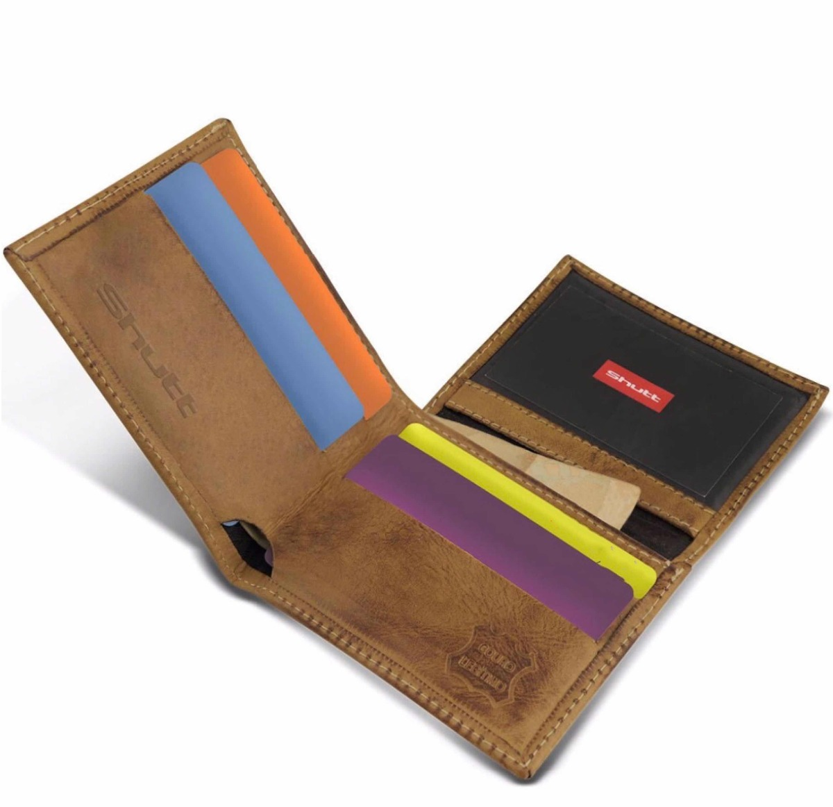 b9e0de290 carteira masculina shutt pequena couro legítimo marrom. Carregando zoom.