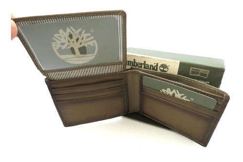 carteira masculina timberland passcase original