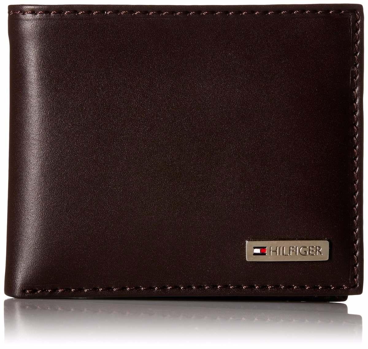 1cbb7645b99 carteira masculina tommy hilfiger em couro symbol - brown. Carregando zoom.