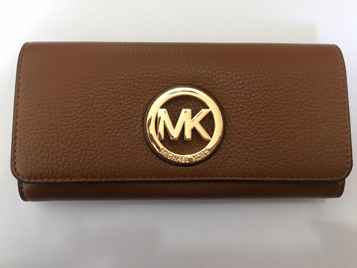 de6490b44aa7f carteira michael kors feminina continental leather original. Carregando  zoom.