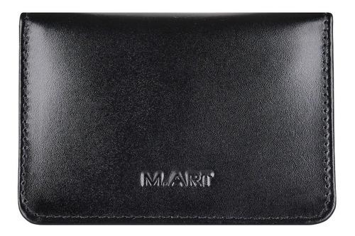 carteira mini couro legítimo porta cartão cnh masculina 154