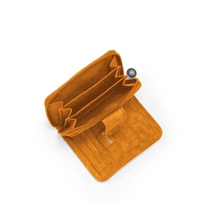 6472bdfd8 Carteira New Money Amarela Sand Beige Kipling - R$ 269,00 em Mercado ...