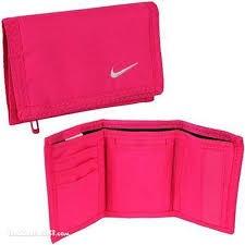 138fcc93d Carteira Nike Basic Wallet Unisex Rosa - R$ 45,36 em Mercado Livre