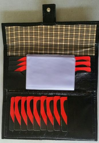 carteira porta cheque ref. 9340