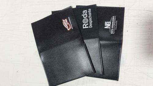 carteira porta documento de couro fabricante