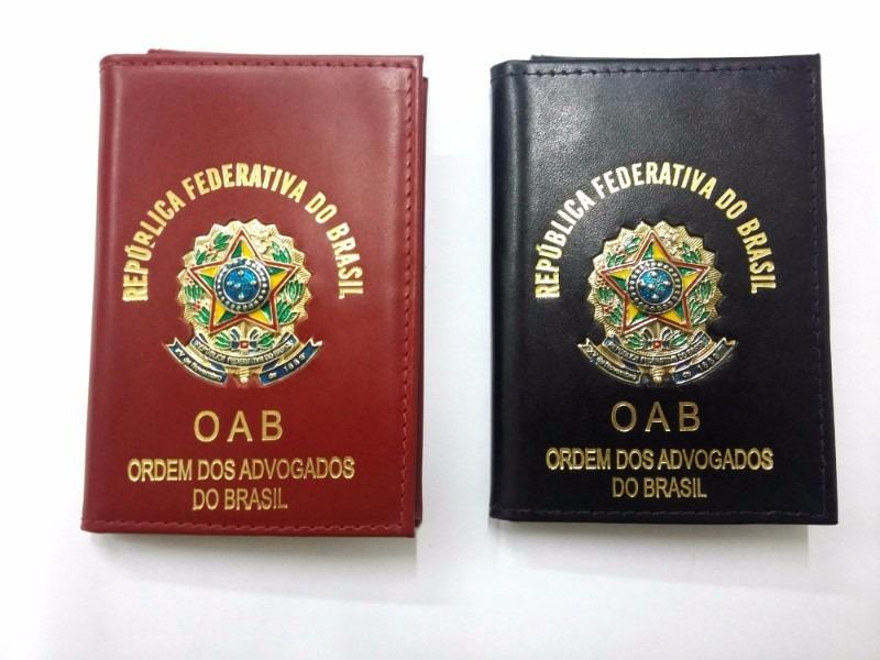 1567dd8cb Carteira Porta Documentos Funcional Oab Advogado *couro* - R$ 119,90 ...