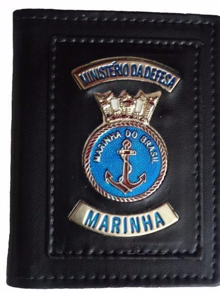 04429cab4a1f3 Carteira Porta Funcional Marinha Do Brasil - R  33