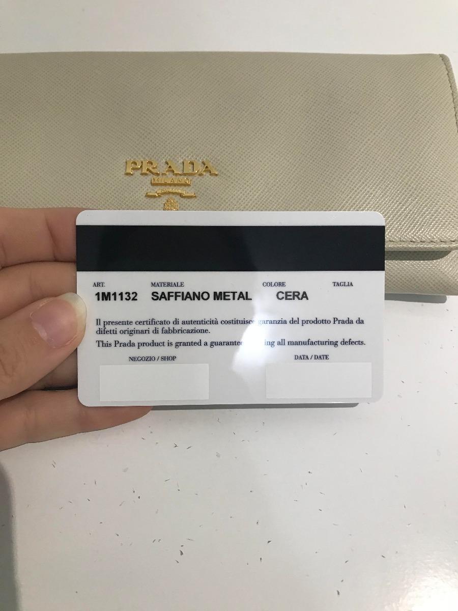 Carteira Prada Novinha - R  900,00 em Mercado Livre 24bc2f5e26