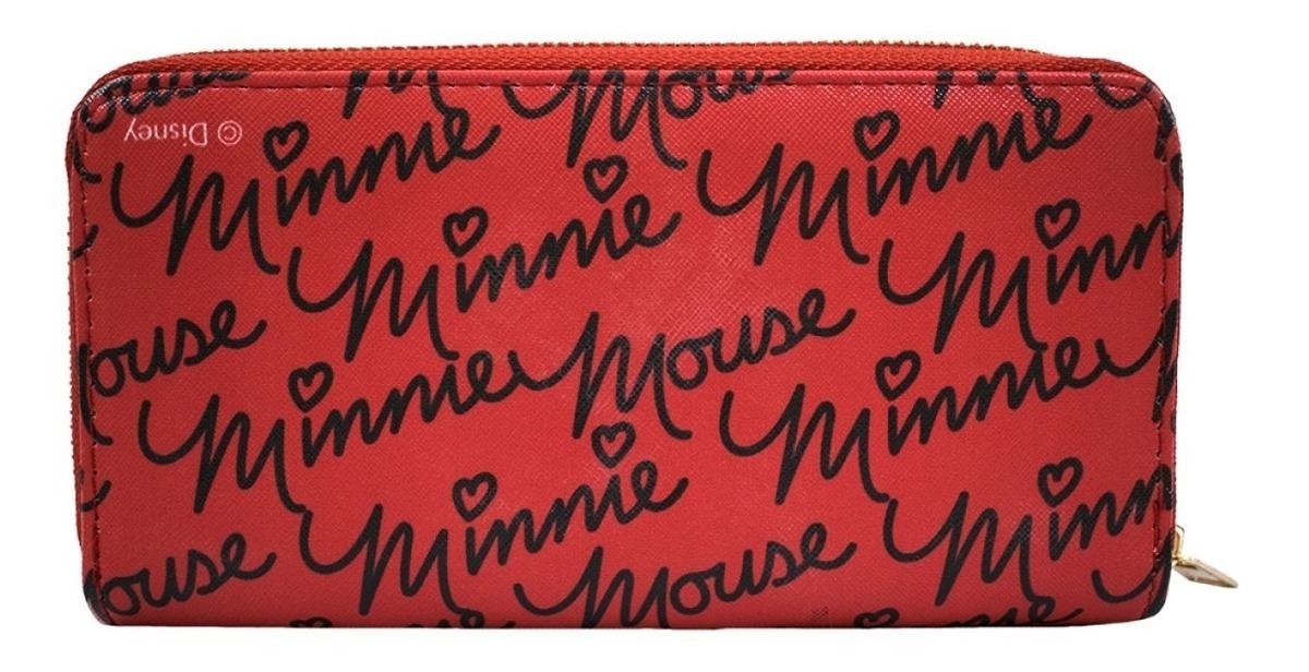 Carteira Rosto Minnie Vermelha Disney R 77 50 Em Mercado Livre