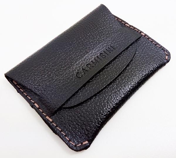 f9bf390cd Carteira Single Pocket Ultra Fina Slim Cabe Rg Couro Luxo V2 - R  60 ...