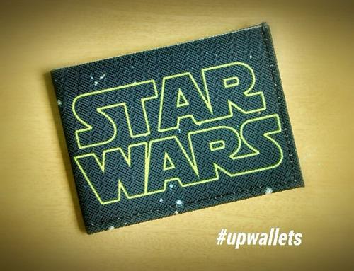 carteira slim pequena unissex star wars