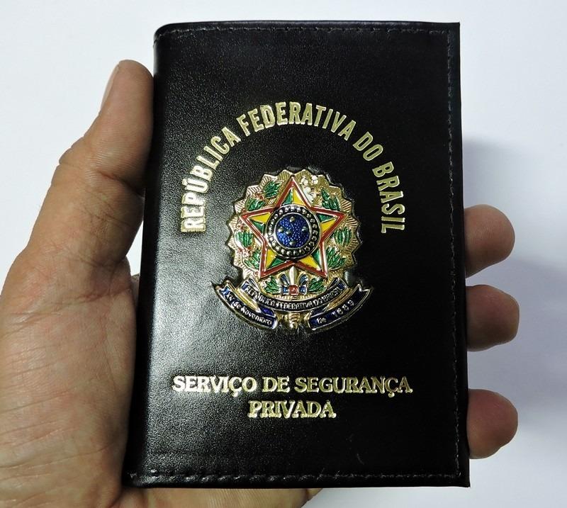 74f8959a5 Carteira Vigilante **personalizada** (couro Animal) Pdas00 - R$ 99 ...