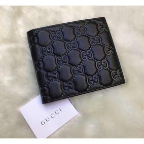 9bebdf8217 Replica Da Gucci - Carteiras Masculinas Couro no Mercado Livre Brasil