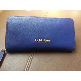 9fe405cadbd0a Carteira Masculina Calvin Klein Com Ziper no Mercado Livre Brasil