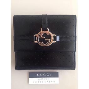 544617f411ddd Carteira De Couro Com Logotipo Gucci Nova - Carteiras Femininas no ...