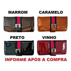 5feed8568 Carteiras Femininas Importadas Verniz Vermelha - Bagagem e Bolsas no ...