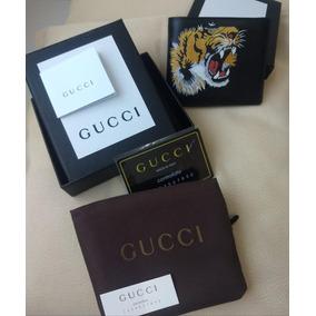 2f330e4630 Carteira Masculina De Couro Gucci Preta Com Caixa - Carteiras ...