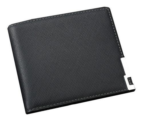 carteiras masculinas de couro trabalhado 4 opções de cores