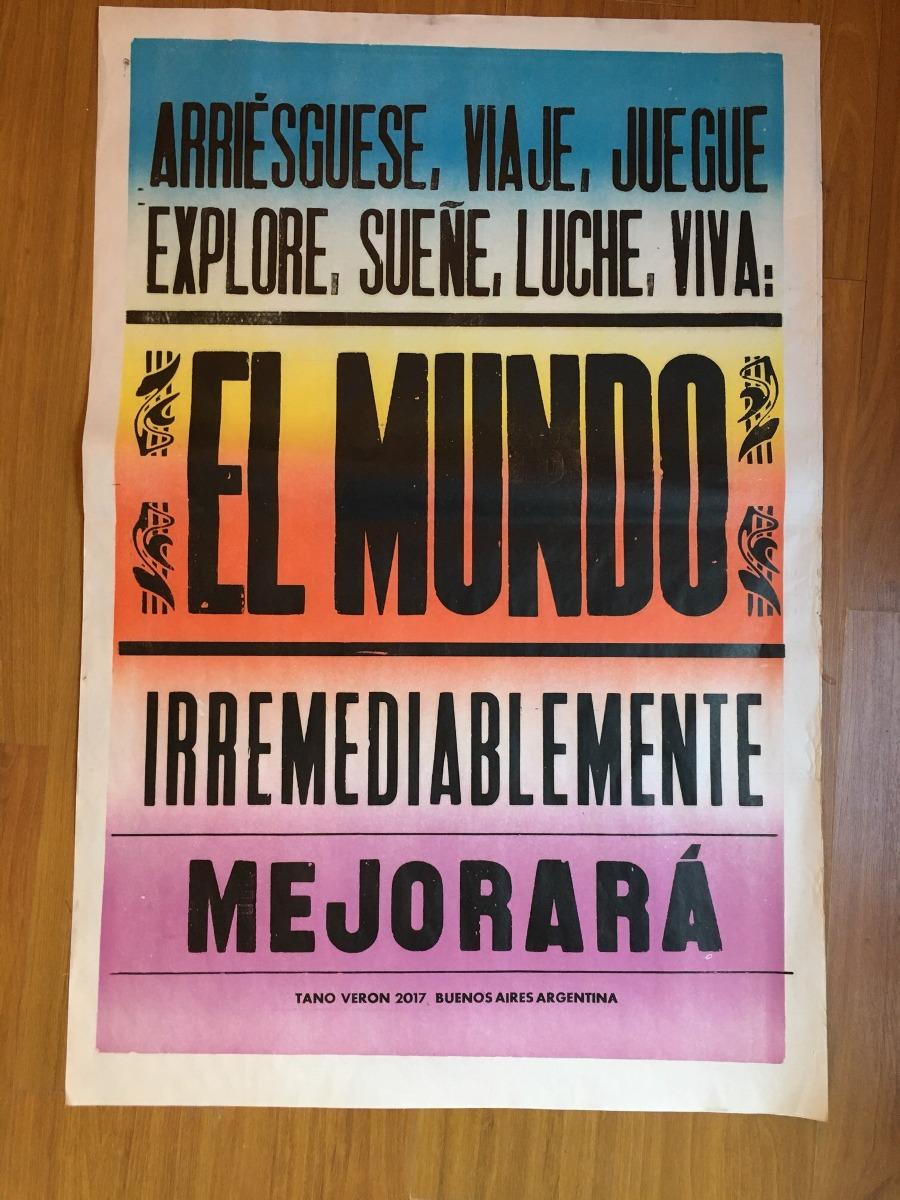 Cartel Afiche Cumbia Callejero Poster Tano Veron - Love - $ 380,00 ...
