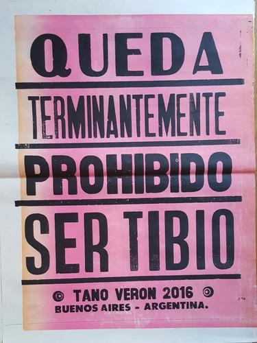 cartel afiche cumbia tano veron poster 50 x 70 cm