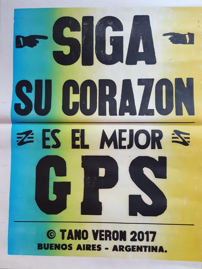 Cartel Afiche Cumbia Tano Veron Poster 50 X 70 Cm - $ 358,00 en ...