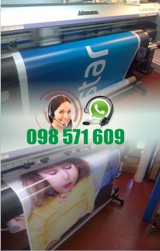 cartel banner roll up / impresion en lona diseño incluido !!