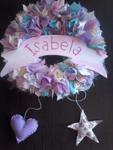 cartel bienvenida regalo nacimiento baby shower con nombre