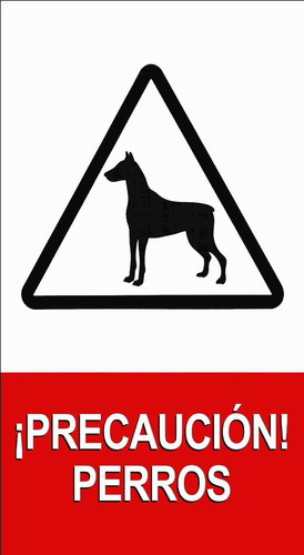 cartel chico - señaletica personalizada