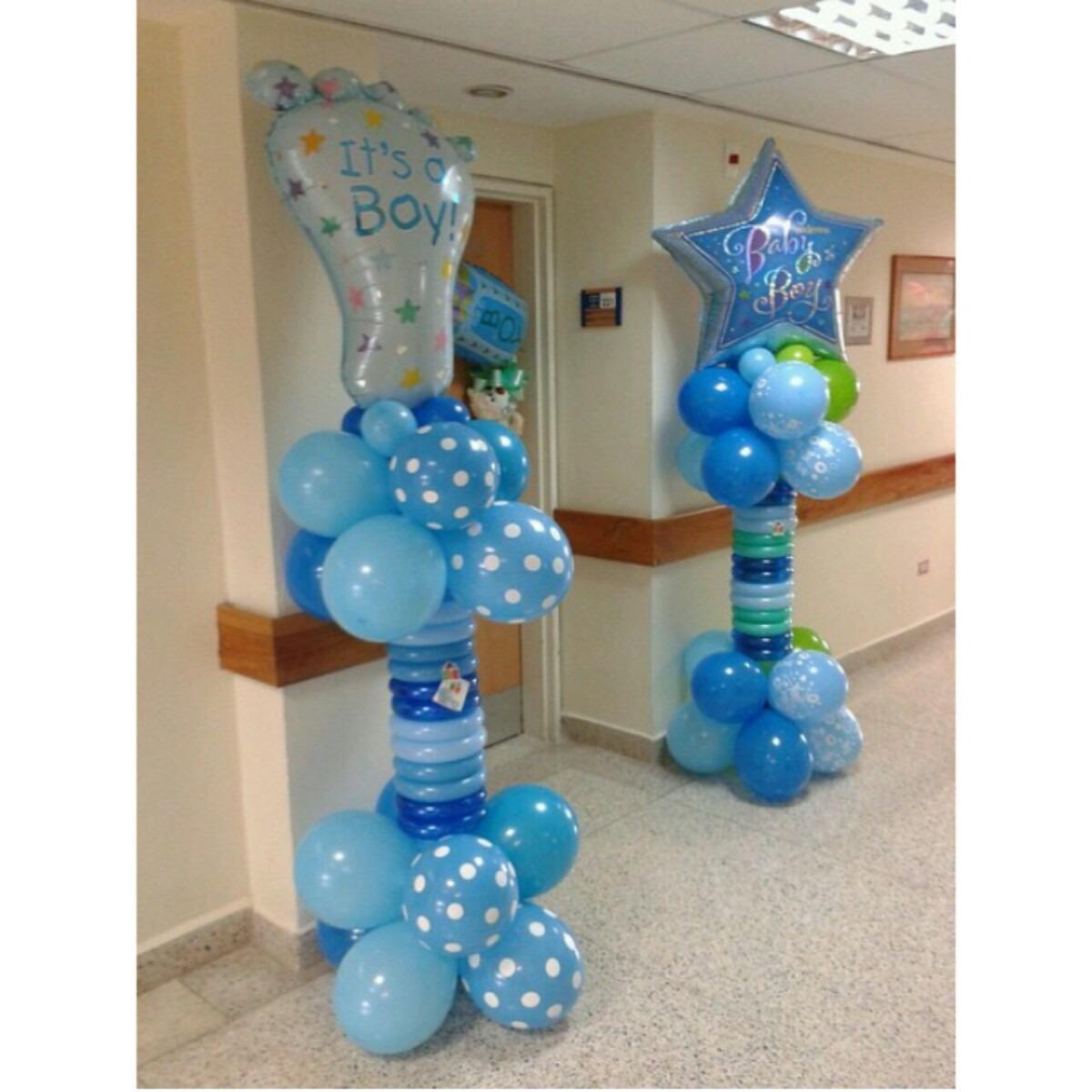 Cartel columna clinica nacimineto globo puerta baby shower - Globos para decorar ...