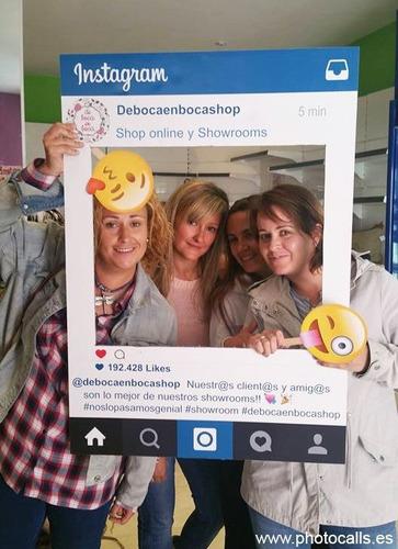 cartel cuadro marco para fotos instagram