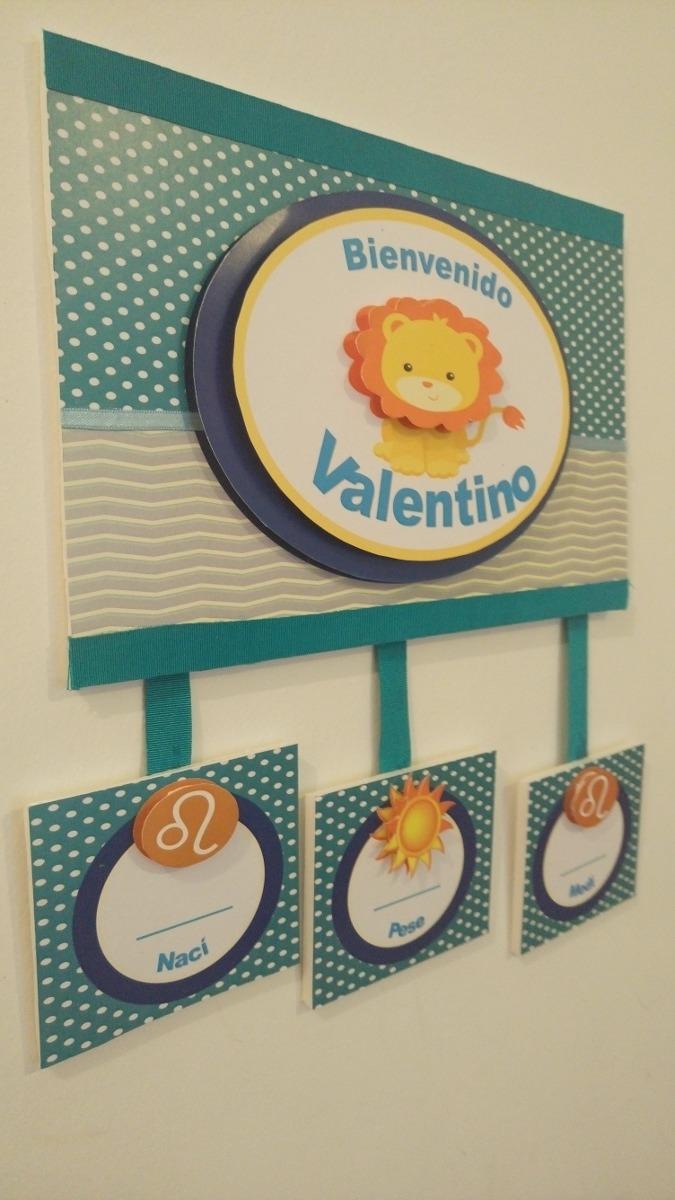 a26bbb623 cartel de bienvenida bebe para puerta sanatorio nacimiento. Cargando zoom.