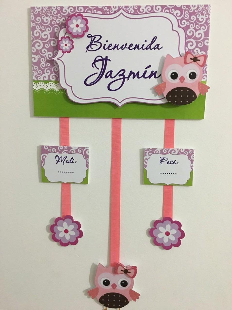 Cartel de bienvenida para bebes recien nacidos bs 10 - Ideas fotos ninos ...