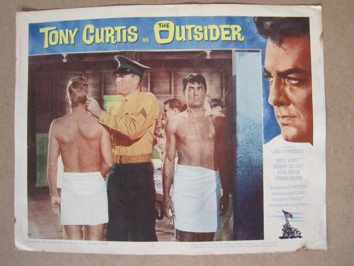 cartel de cine original 1962 the outsider vintage 28x35 curt
