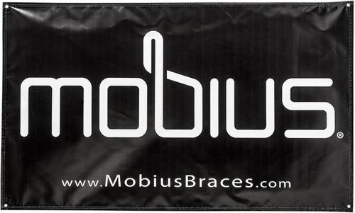 cartel de mobius negro/blanco 3ft x 5ft