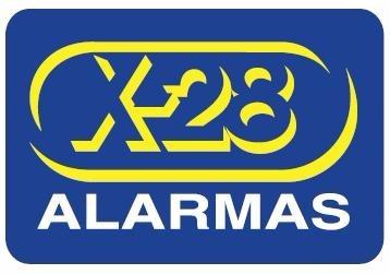 cartel disuasivo seguridad propiedad protegida alarmas x-28