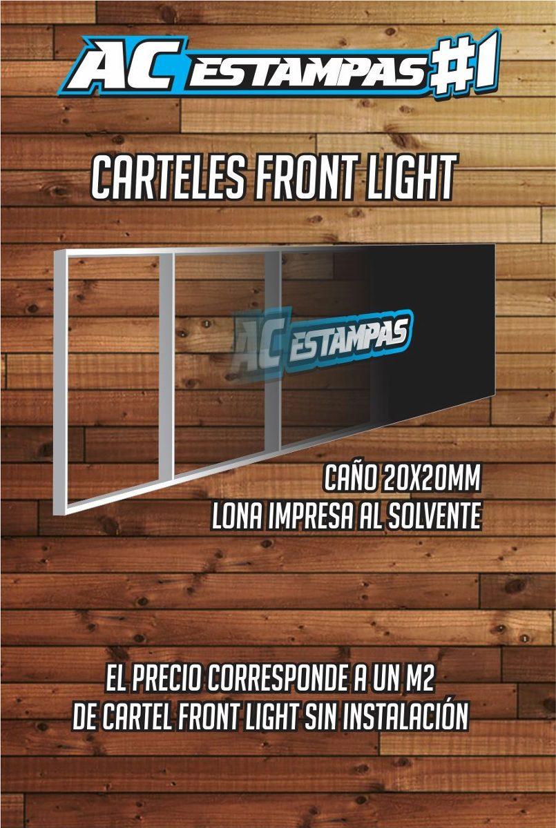 Cartel Front Light Back Marquesinas Corporereas Ac Estampas ...