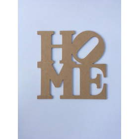 Cartel Home Amor Frases Mdf 5mm 30x30cm